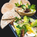 Cobb Salad Sour Dough Pitta