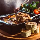 Spicy Beef & Spinach Tortilla Pinwheels