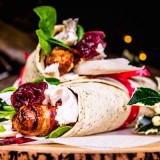 A TASTE OF CHRISTMAS – Turkey Feast Wrap
